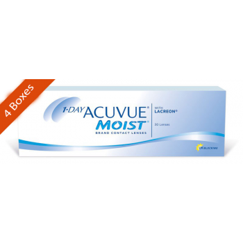1 day acuvue moist daily 4 boxes