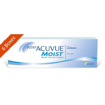 1 day acuvue moist daily 6 boxes