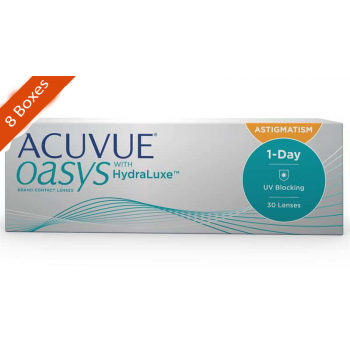 Acuvue Oasys for Astigmatism Daily