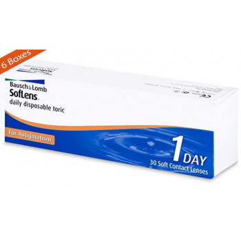 Soflens Daily Disposable Toric for Astigmatism