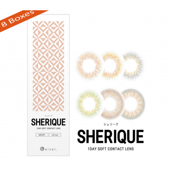 Ever Color 1 Day Sherique Contact Lenses