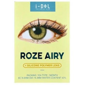Idol Roze Airy One Month Contact Lenses