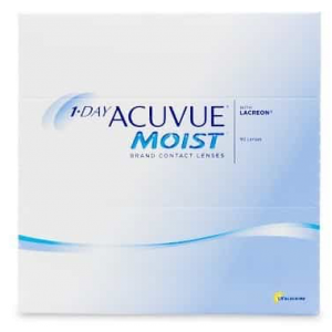 1 day acuvue moist daily 90 Pack